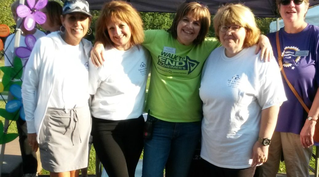 Caregivers at Alzheimer's Walk 2017